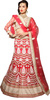 Aasvaa Embroidered Women's Lehenga, Choli and Dupatta Set(Stitched)