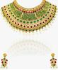 Green/Multicoloured 100%Zinc Necklace Set