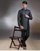 Silk Muga Full Sleeves Short Kurta
