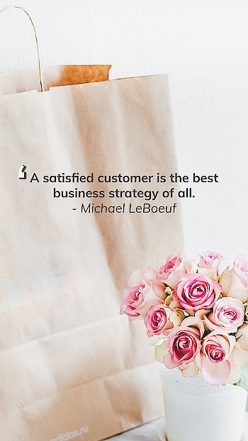 Keep your customers at the forefront of everything to succeed 🙌 . . . . #customers #shop101 #onlineshop  #seller #sellers #reseller #wholeseller  #retailer #business #businessman #businesswoman