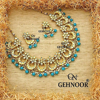 Our Bestselling Design back in Stock! . And this time it's in FEROZI! 💎💎 . Gorgeously Cute Mini Chandbalis crafted together and adorned with Fine White Pearls and Ferozi Pearls. These are what Royalty look like! 💎❤️ . www.gehnoor.com 💻 . FREE SHIPPING anywhere in India 🚙 . Cash On Delivery Available across India 💲 . WhatsApp at 07290853733 📱 . www.facebook.com/Gehnoor/ . gehnoor@gmail.com 📝 . #bride #goldjewellery #kundannecklace #traditionaljewellery #indianbride #photooftheday #instabride #bridalwear #bridaljewellery #tags #like #likeforlike #followfollow #followus #followback #gehnoor #earrings #chandbali #kundan #everydayphenomenal #fashionblogger #indianfashionblogger #ColourMeGehnoor #Colourfest #ferozi #feroza