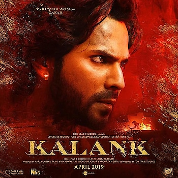 Look at those fierce eyes! Here comes the first look of #varundhawan as Zafar! . . .. #kalank #firstlook #varundhawan #starkid #styleicon #bollywoodupdates #bollywoodactor #page3reporter #kalank