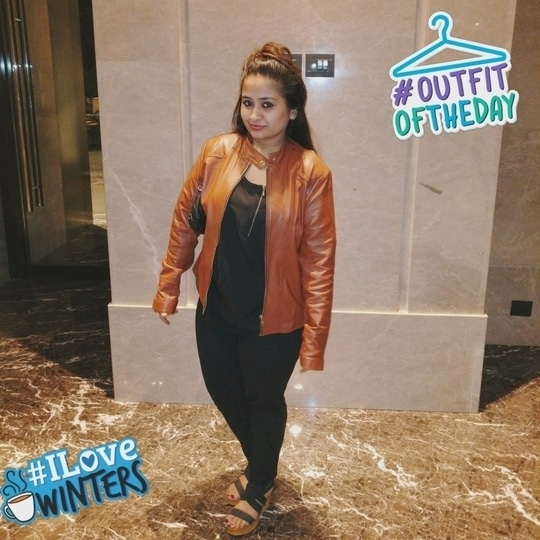 winter ready for the Love of jackets and layers #ootd #ootdroposo #ootd #westernwear #winterclothing #streetstyle