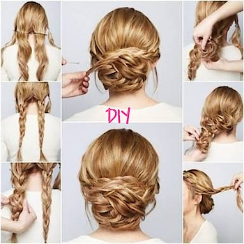 #soroposolove #hairstyleing #braid #stepbystephairstyle #roposo-style #bun #styling #pretty #elegance