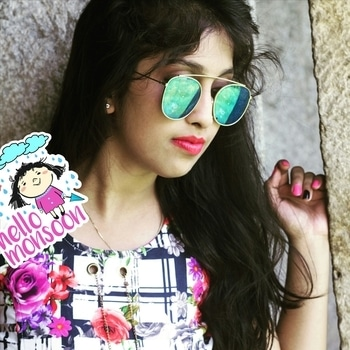Goodnight roposo#roposome#roposo#roposo-makeupandfashiondiaries#monsoonstyle#monsoontips#monsoonstyle#rainyday#delhibeautyblogger#delhi#rainyweather#floraldress#floraldesign#reflectors sunglasses#instagrammars #hellomonsoon