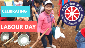 Celibrating labour day with NSS  #nss #ytcreatorsindia #gwalioryoutuber #indianchic #labourdayweekend #laboursday  #labourday #labourday2018