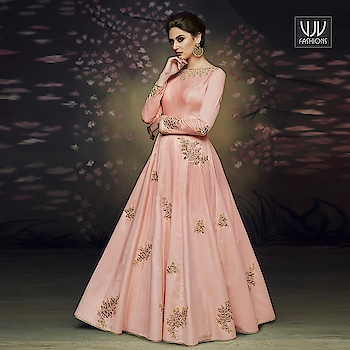 Buy Now @ http://bit.ly/VJV-NAKK3079  Lavish Pink Color Satin Silk Designer Party Wear Gown  Price- ₹4,450.00  Fabric- Satin, Silk  Product No 👉VJV-NAKK3079  @ www.vjvfashions.com  #salwarsuit #salwarkameez #punjabisuit #indianwedding #model #bridal #bridalsuit #weddingstyle #occasionwear #sabyasachi #weddingwear #bridesmaids #salwarsuits #anarkalisuit #plazzo #plazzosuit #punjabi #kurat #ethnic #traditional  #designer #desifashion #online #shopping #designer #punjabisuit #vjvfashion #vjvfashions