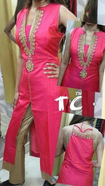 Mastani silk kurti with pant... 40-42-44 2350+$ #kurtiwithpant