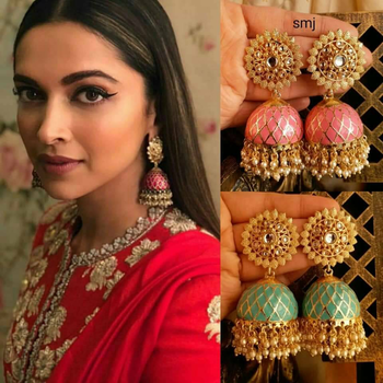 Excited to share the latest addition to my #etsy shop: Indian Traditional Jhumkis #jewelry #earrings #jhumkis #longjhumkis #feathertouchshop #ethnicjhumki #traditionalearring #longearrings #indianjhumki https://etsy.me/2FsZuX9