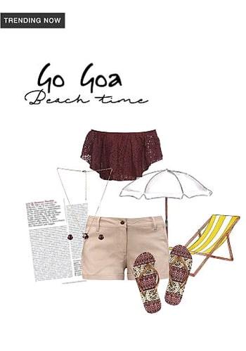 Get it from limeroad.com. Goa Beach Look. #goalook #goa #goabeach #goabeachlife #delhifashionblogger #nitinihaaricaa  #beachwear