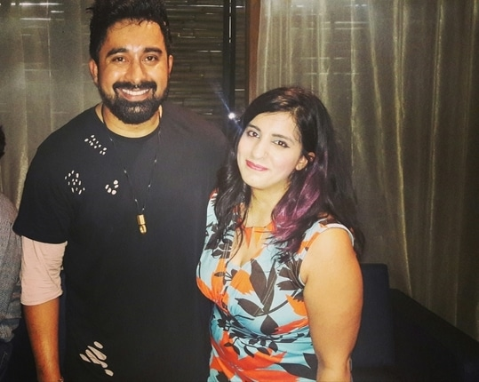 Happiness is meeting a person whom I have always admired 🤗 Rannvijay sir is always an inspiration and yes one of the best idols 🤗