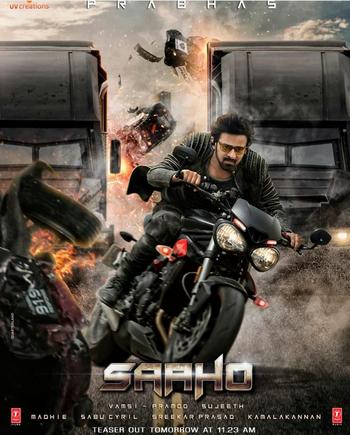 Saaho Teaser #saaho #saaho_darling_prabhash #saaho_2019 #saahoteaser #saho #prabhas #prabhasfan #prabhas_fans #prabha #sujeeth #shradhakapoor