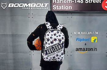 """""""I be getting high just to balance out the lows."""" . . BOOMBOLT backpacks are available online! #backpack  #boombolt  #travelgear  #adventure #laptopbags"""