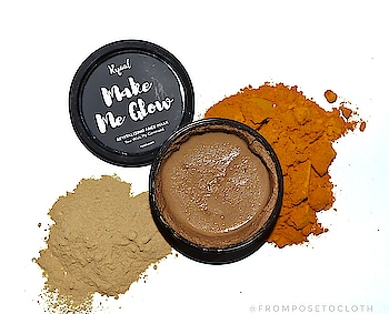 R Y A A L  MAKE ME GLOW BRIGHTENING FACEMASK💆 . . . Main Ingredients  TURMERIC & SANDALWOOD  These are best known for brightening up Skin 😍 . . . Revitalizing Face Mask A cooling blend of mysore sandalwood. Turmeric and Orange peels to detoxify and energize the skin. . . . Price 499 for 125gm . . . Available on @ryaalusa & @amazondotin . . . F U L L  R E V I E W  S O O N  STAY TUNED 🤓 . . . #diksha #fromposetocloth  #ryaal#ryaalusa#skincare#facemasks#skincareproducts#facepacks#turmericfacepack#sandalwood#bestfacemask#bestskincare#indianbrand#indianskincare#parabenfree#indianblogger#review#follow#instagram#skin#faceproducts#healthyskin#diy#beauty#blog#blogger#pikreview_official#pikreviewblogger#pikreview#plixxoblogger