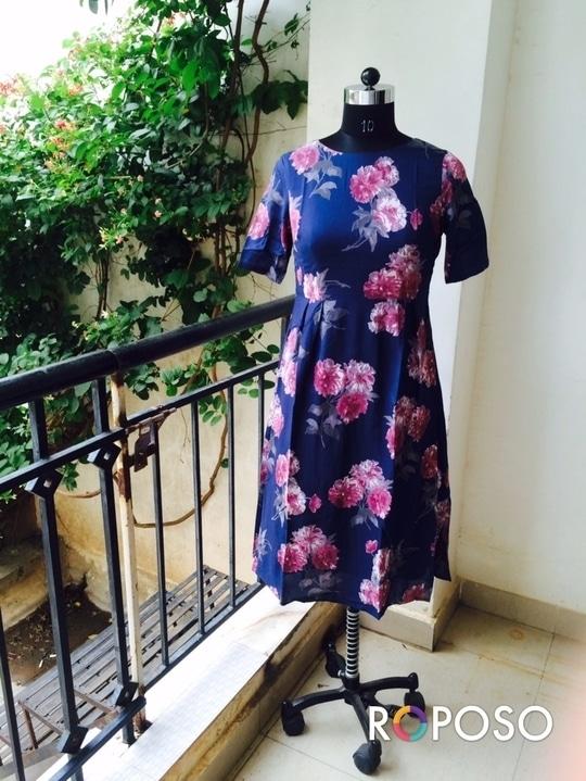 Victorian Flower Dress