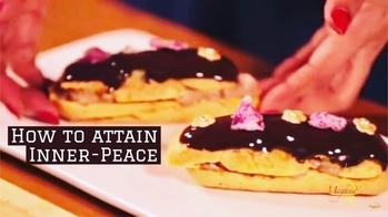 Bake obscenely large chocolate eclair. Push the chocolate eclair into mouth. Lick fingers to hide the evidence. Stand quietly for 2 minutes. Inner-Peace obtained. That's the Power of chocolate eclair. Recipe link- https://youtu.be/2apjKuSpB7Q. 💋💋💋 Love M. #ChefMeghna #chocolateeclair #chocolatelover #chocolatedessert #dessert