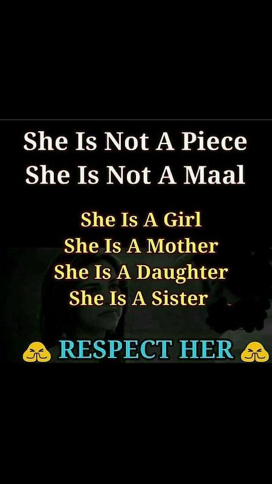 Respect ✊ woman's 🙏