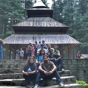 It's always good to travel places and it gets even more fun and interesting when you are accompanied by your friends. Had super fun time at Manali. A group pic at Hidimba Devi  Temple. 😍❤️. #picoftheday #beautifuldestinations #traveller #travelgram #natgeo #travelblogger #travelphotography  #beautiful  #wanderlust #tourism #therawtextures #photography #picoftheday #likesforlikes #followforfollow #follow4follow #like4like #india  #naturalbeauty  #photooftheday #instagram #himachal  #temple #hidimba  #manali #mountains #kasol #sky #travel