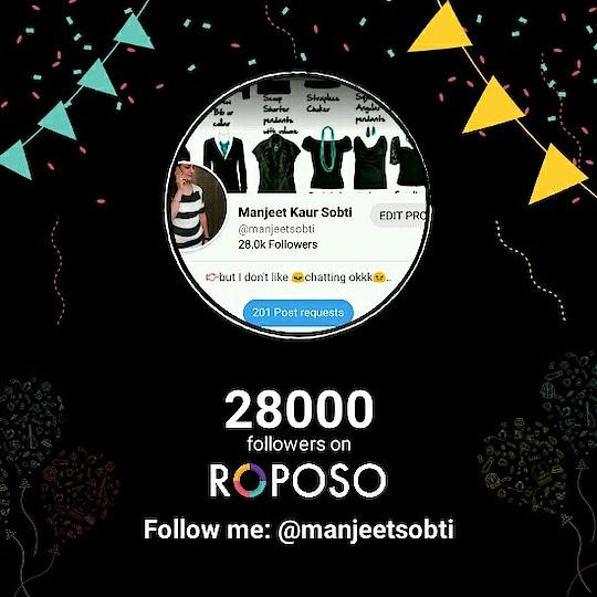 Good morning my all followers.. किन शब्दों में शुक्रिया👏👏 करे👉 हम आप सब 👪👪का.. दिमाग 😇ही नहीं चल रहा कि क्या लिखूँ। Anyways तह दिल से शुक्रिया👏👏 आप सभी 👪👪का।.. Have a nice day👍Take care..but but.. #followme  in #roposo 😀😀✋Bye.. Updated their profile picture #newdp