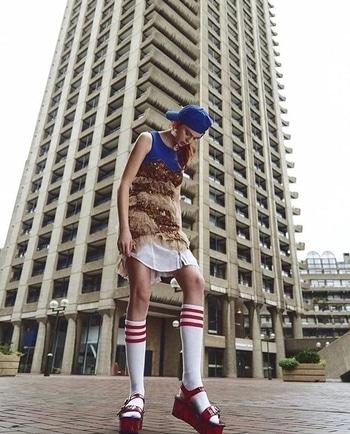 In the Cold of the Day / @damagedmagazine Photographer / @navarroaydemir  Dress / #rockystar  Model / Kate Parnell Stylist / @gulcegunaydin  Makeup & Hair / @megkoriat  Assistant / @ufukll #love #fashion #instafashion #style #instastyle #poppr #pr #London #stylist #model #photographer #mua #potd #lotd #womenswear #designer #eveningwear  #fashionblog #fashionblogger #editorial #nowinstore♥️ #rockystar  Rocky Star  Delta house 18th road  Khar  Mumbai
