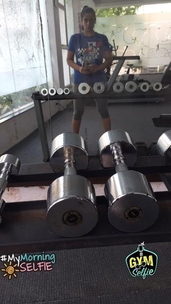 #workout #stayfit #stayhealthy don't wasye #time n #life #mymorningselfie #gymselfie