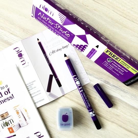 On my testing table @plumgoodness NaturStudio All-Day-Wear Kohl Kajal which claims to be Smudge-proof, Waterproof all day. It comes with a free sharpener worth 150 Inr. #plum #plumgoodness #plumgoodnessnaturstudiokajal #plumkajal #plumgoodnesskajal #beauty #makeup #kohl #kajal #liner #kajalcumliner #eyemakeup #eyeliner #makeupjunkie #makeupartist #blogger #blog #lifestyle #plummakeup