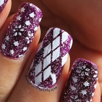 Purple Sweater Nail Design Tutorial is up on Youtube  Link: https://youtu.be/3fdrF9i4ywk  #designyournailsbyisha #ishanailart #naildesign #nailarttutorial #nailartvideo #nailvids #nailblogger #youtubevideo #nails #nailart #nailswag #nailartjunkie #nailartist #nailstylist #indiannailartist #art #photography #christmasnailart #uglysweaternailart #sweaternaildesign #sweaterpattern #stampingnailart #christmas2017 #christmasnails #notd #roposonails #roposoblogger #roposolove #soroposo #roposostyle #roposofashion  IG: design_your_nails_by_isha