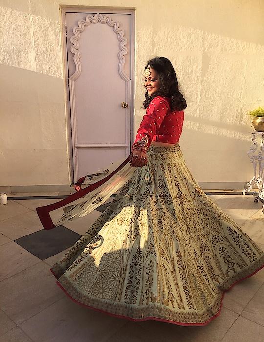 Twirl!✨ #ethnic #indianwear #twirl