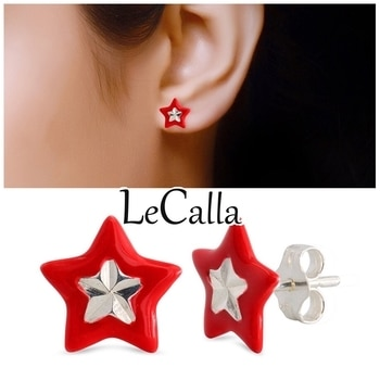 The attractive design make these earrings a must have and also make a perfect gift specially for young girls.  #LeCalla #redstud #earrings #star #kidsaccessory #designer #grabnow #fashionwear #fashionista #studearrings #kidsfashion #redlove #musthave #newstyle #buynow #babysis #classy #loveforsilver #starshaped #attitude #photooftheday #onlineshopping #indiagram #instalove #instajewellery #instagood #roposo #roposolove