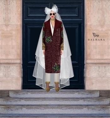 Fiercely Feminine #vijaybalhara #hautecouture2017 #bridal #embroidered #coat