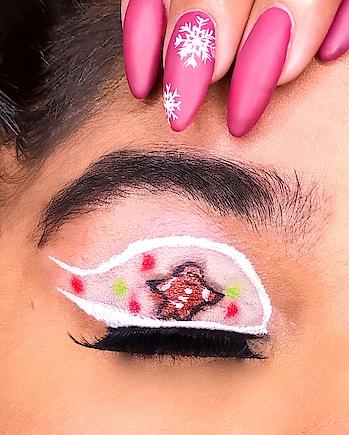 ~ GINGERBREAD MEN TIME 😋 . . Do you like Gingerbread men biscuits ? 😍 ——  #gingerbreadmakeup #christmasiscoming #christmastime #christmasvibes #xmas #blogger #bblogger #blogueuse #beautybloggers #beauty #beautiful #wakeupandmakeup #makeup #makeupart #xmasmakeup #makeupinspo #fashion #roposo #makeupmafia