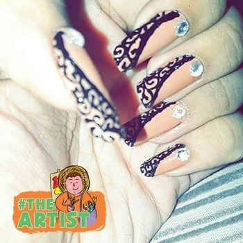 #roposotalenthunt #nailart #theartist #creative #theartist