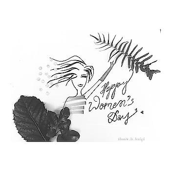 🌸One Girl With Courage Is A Revolution 🌸 . . #happywomensday #empowerwomen #womenoftheworld #womenpower #wesupportwomen #womensupportwomen #instapost #illustrations #behappy #beyou #becausebebeautiful