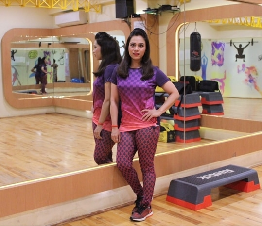 Hitting the gym in my super comfortable & stylish outfit from @piranhasportswear 💯 . . . . #bespokegrub #indianblogger #lucknowblogger #lucknowbloggers #bloggersworldwide #fashionblogger #fashionbloggersofindia #fashionstyle #fashionlook #sportswear #pirhanasportswear #pirhana