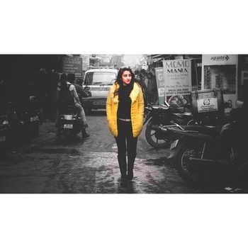 Fashion has always been a repetition of ideas, but what makes it new is the way you put it together. . . . . . . . . . . #photooftheday #sonyalpha #fashionshoot #monochrome #bnw #colours #blacks #yellow #winters #pursuitofportraits #portrait #boots #jackets #fashionblogging #fashionblogger #modelling #models #fashionista #fashion #monochromeindia #dfordelhi #bnw_india #blogs #citylife #city #urbanfashion #instaclick @instagram . #tizonaphotoworks