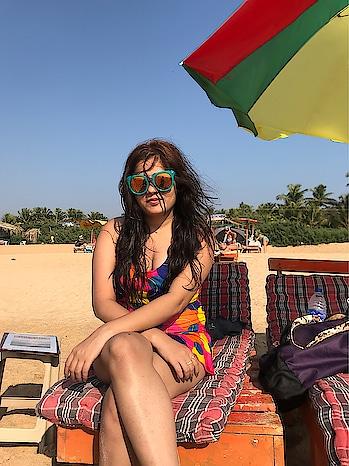 Sunkissed! #beach #roposo  #tbh #blogger #fashion #fashionation #fashionista #delhibeautyblogger #delhibloggergirl #girls #gurl #followme #like #likeforlike #f4f #l4l #beachfashion #tbt #ootd #trendingnow #top #swimsuit #beachwear #goa #vlog #travel