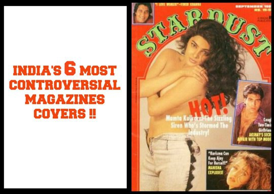 India's 6 most controversial Magazine Covers!