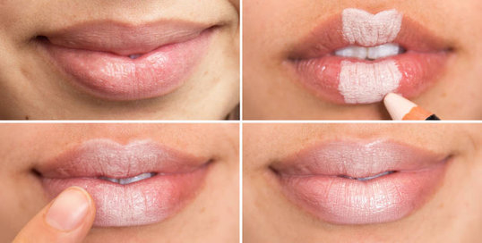 4. Make your Lips appear Larger