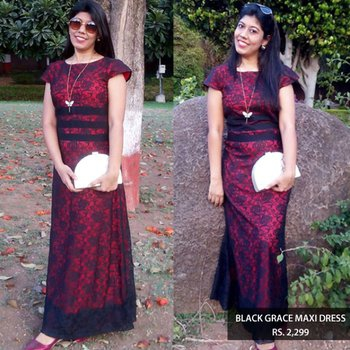 #blogger #stunning#red#maxidress