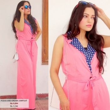 polka and dream jumpsuit