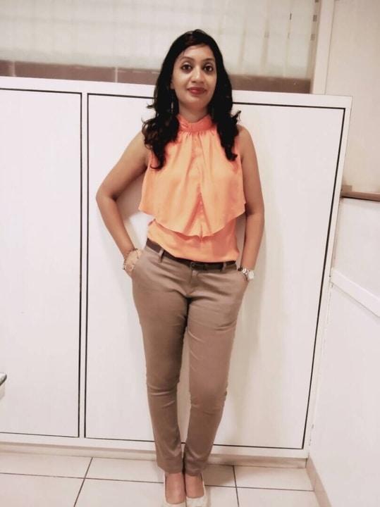 #mondaymood #officewear #officelook #lookoftheday #orangelove  #formalwear