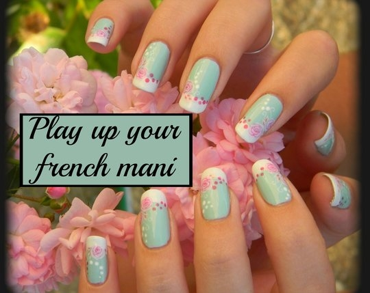 Play up your french mani