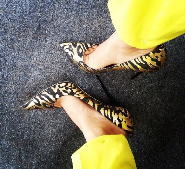 5) Realise you need to take more steps when you are wearing heels: