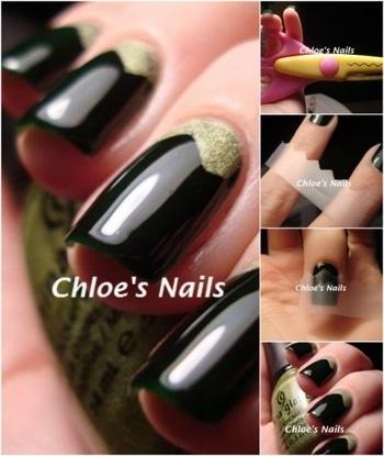 Shearing Scissors as a Tool #nails #nailsart #nailart
