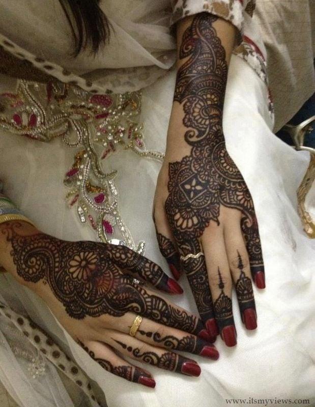 bridal mahandi
