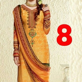 satin silk printed Kurtis wid stole duppatta only for rs 899...