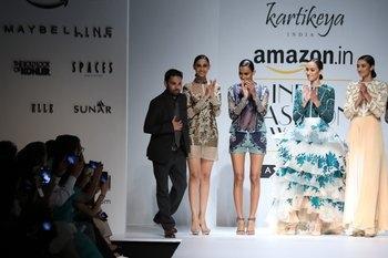 Amazon India Fashion Week SS 16- Kartikeya's 'Bridge'