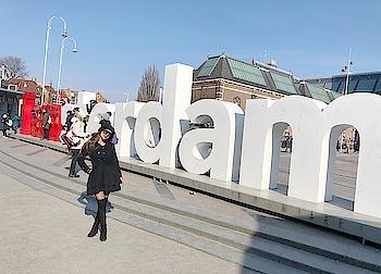Amsterdam 😍😍😍😍 : #amsterdam #amsterdamcity #amsterdamnetherlands #netherlands #citytour #happy #dayout #exploring #europe #amsterdamwithnehamalik #europetripwithnehamalik #travelblogger #traveldiaries #luxurytravel #travelgirl #style #nehamalik #model #actor #diva