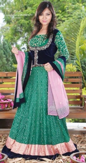 I love ethnic wear #4piece #winterwear