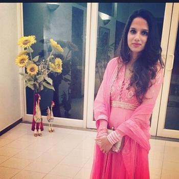 #pinksuit #weddingdiaries #winterwardrobe